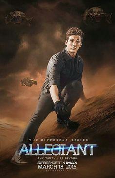 The Divergent Series: Allegiant: Part 1 / Die Bestimmung - Allegiant: Teil 1 Peter Divergent, Divergent Fan Art, Divergent Fandom, Divergent Trilogy, Die Bestimmung Allegiant, Hush Hush, Narnia, Percy Jackson, Miles Teller