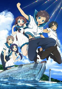 Nagi no asukara - I'm not sure what genre this anime is but watch it!