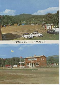 Grimsbu Camping - Folldal- Hedmark 1960-tallet