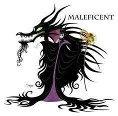 Maleficent is my favorite disney character!!! Love her!