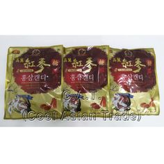 Korean Red Ginseng Candy Essence As The Main Material 200g 200g 200g total 600g #KoreanGinseng