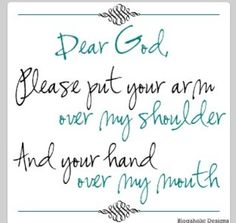 I need this request often..but he is definetly working on me with this ;0)