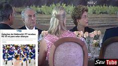 EXPLOSIVO: Dilma/Temer compraram tempos de TV do PP, PROS, PC do B, PDT ...