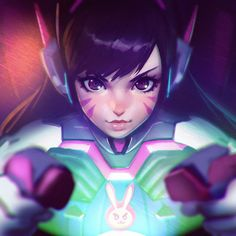General 1080x1080 Blizzard Entertainment Overwatch video games D.Va (Overwatch)