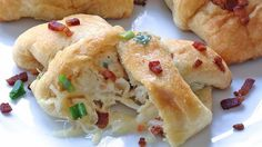 You'll love these delicious cheesy, chicken, and bacon rollups that are so quick and easy to put together. Great for parties, game day, or any day!