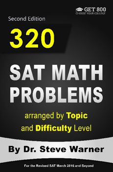 The solution to this level 5 number theory sat math problem can be 320 sat math problems arranged by topic and difficulty level second edition fandeluxe Image collections
