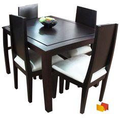 Comedor cuadrado 6 sillas monegro s r cocina pinterest for Comedor 8 puestos cuadrado