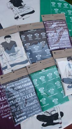 Packaging Tote Bag Literalment Bosses, Bolsas