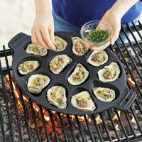 Recipes | Chargrilled Shucked Oysters | Sur La Table