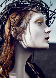Sophie Touchet by Phil Poynter for Vogue Germany October 2014