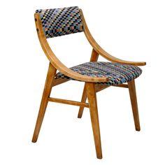 krzesło_skoczek_w_kratkę_lata_60 Furnitures, Chair, Home Decor, Chairs, Decoration Home, Room Decor, Stool, Home Interior Design, Home Decoration