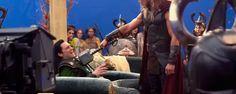 'Thor: Ragnarok': Un nuevo vídeo tras las cámaras muestra una escena nunca vista con Loki