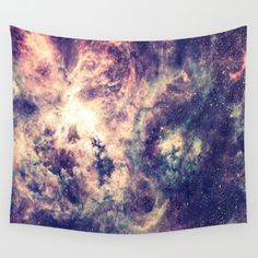 Buy Tarantula Nebula Deep Pastels Wall Tapestry by GalaxyDreams. Worldwide shipping available at Society6.com. Just one of millions of high quality products available.