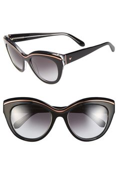 kate spade new york 54mm cat eye sunglasses available at #Nordstrom