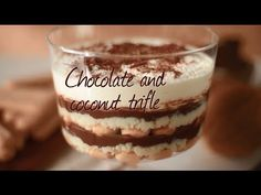 This chocolate coconut trifle is a unique Brazilian take on the classic British dish. Try it for a change!