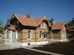 Station lodgings-German houses-İstasyon lojmanları -Built year: 1896-Konya