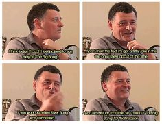 Steven Moffat describing his favorite episode in a 2013 Gallifrey One interview. Best interview yet!