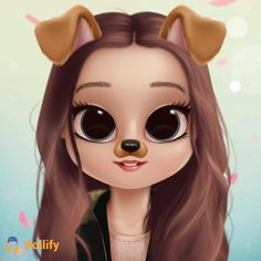 Check out my doll! Cute Girl Wallpaper, Cute Disney Wallpaper, Cute Cartoon Wallpapers, Cute Girl Drawing, Cartoon Girl Drawing, Cartoon Art, Girly Drawings, Cute Kawaii Drawings, Cute Cartoon Girl