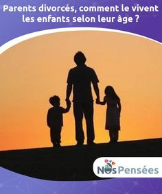 Parents divorcés, comment le vivent les enfants selon leur âge ? Beaucoup de parents pensent que la #séparation n'affecte personne d'autre qu'eux. Or, ce n'est pas vrai quand il y a des #enfants. Même si on ne fait pas attention à eux, les plus petits souffrent du divorce, des disputes, des #malentendus et de tout ce que peut entraîner une #rupture. #Psychologie Parents Divorce, Le Divorce, Coaching, Parent Resources, Parenting Teens, Kids Nutrition, Attention, Quizzes, Feel Good