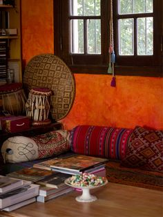 The home of Lucila in Buenos Aires, Argentina. Beautiful bohemian living space.