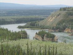 Five Finger Rapids Yukon Canada  copyrighted 2014 Dark Woods Studios, Ltd. Co.