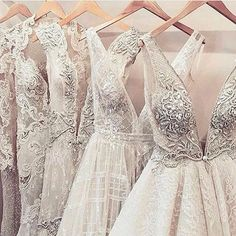 When you're shopping for your #weddingdress, it's a good idea to be open to different styles to make sure you get the best fit for your body type and you may find something you absolutely love in a style you never thought of. #BeOpen . :camera:: @fashionf