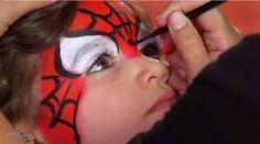Comment faire un maquillage facile de Spiderman!