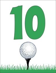 Personalized Golf Theme Party Supplies