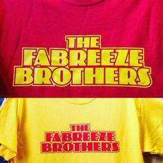 #fabreezebrothers shirts from yesterday for #aeproductions  #simpleprintstudio #screenprinting #handprinted #tshirts #tshirtprinters #bristol