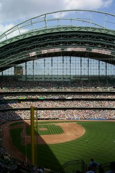 Brewers~Miller Park in Milwaukee, WI. My games: three-game series (7/20/07, 7/21/07 & 7/22/07) vs Giants with Aindriu and Thomas.