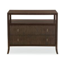 Bernhardt Furniture | Haven Collection | 346-230 Bachelor's Chest | Brunette Finish | MacQueen Home nightstand
