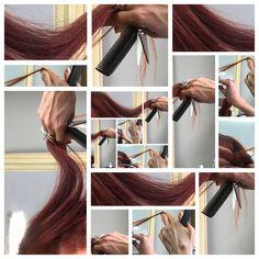Le cheveu est une matière vivante, un mouvement libre jusqu'à l'infini.  Sa couleur est lumière.
