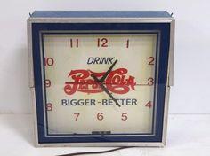 Pepsi-Cola clock Lot 1138