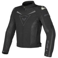 dainese_super_speed_textile_jacket_detail Best Deal Dainese Super Speed Textile Jacket (Color: Black/Black/Dark Grey / Size: 50)