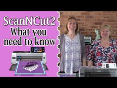 Screen adjustment IN DEPTH, not the calibration Original ScanNCut Brother Jen Blausey - YouTube