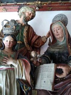 Santa Ana, Spain, Sculpture, Statue, Art, Saints, St Andrews, Sevilla, Art Background