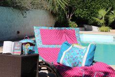 Un peu de soleil pour flâner avec nos petites créations faites maison =)