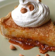 Butterscotch Brulee Pie