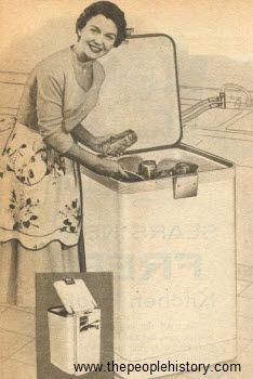 1959 Portable Dishwasher