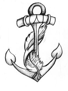 "anchor feather tattoo.... big possibility combines my two sayings...... ""I refuse to sink""  and ""learn to fly"""
