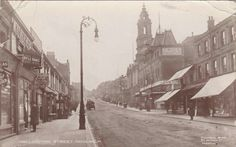Wellington Street Cinema and Shops 1919