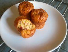 Bezlepkové Slané Muffiny se slaninou a pažitkou