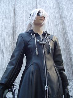 Kingdom Hearts II Organization XIII Cosplay Costume