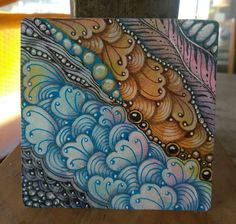 coffee & creativity: Diva Challenge #310, IAST#190 and Travelling Tangles