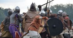 An Age Of Brutal Conflicts - The Vikings and The Franks