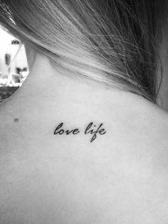 First tatt