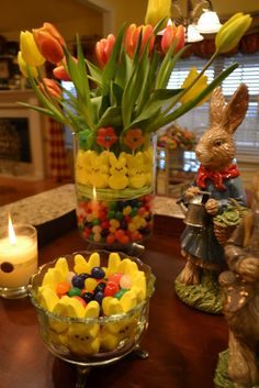 Kristens Creations: Pinterest Inspired Easter Candy And Tulip Arrangement