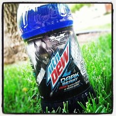 A bottle of Mountain Dew Dark Berry just arrived...