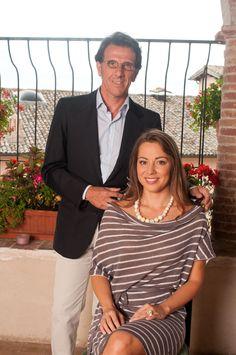 Adriana Kucerova e Zefferino Monini