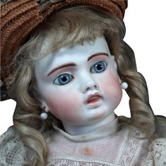 "Sonneberg Bru-Faced ""Belton"" Bisque Doll, 18"" from signaturedolls on Ruby Lane"